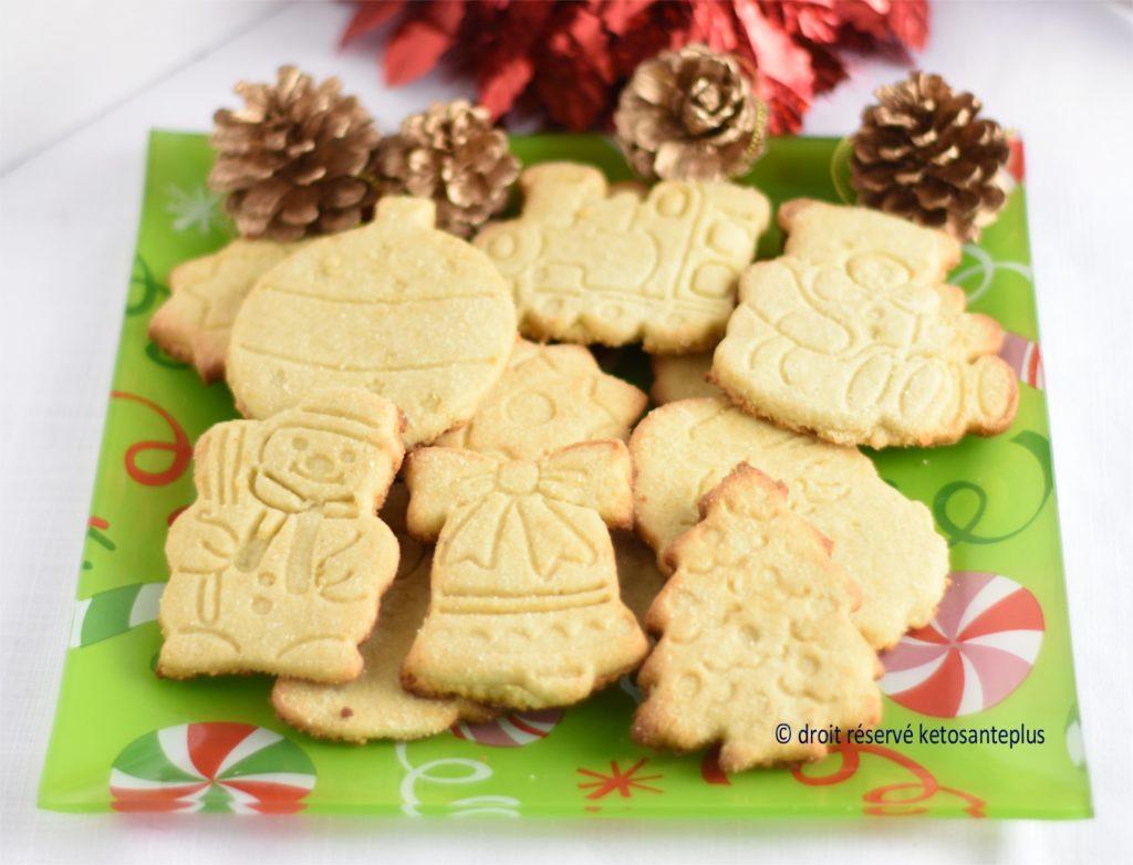 Biscuits de Noël keto