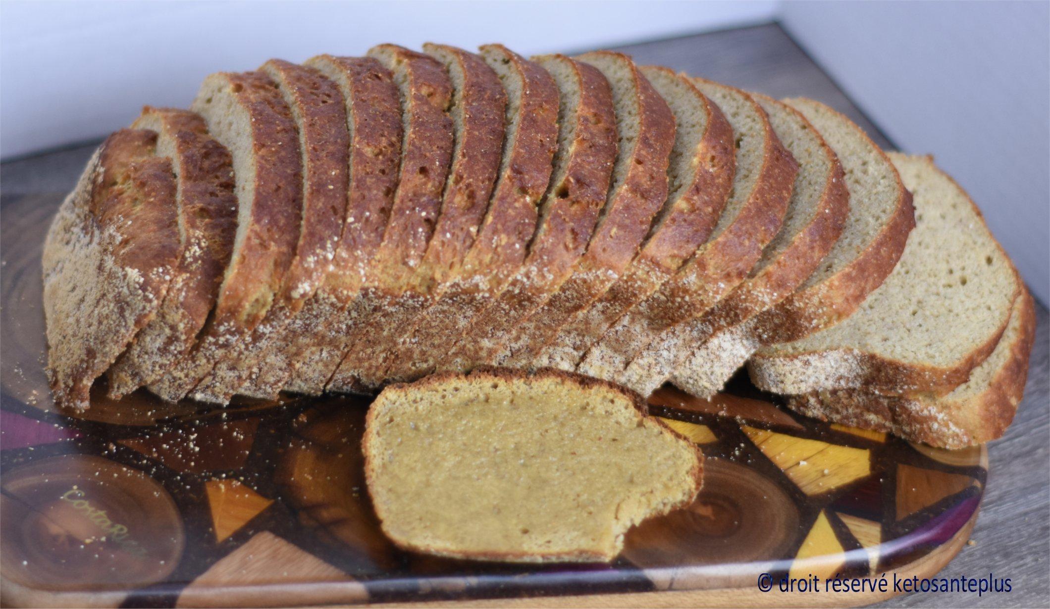 Pain sandwich protéiné keto
