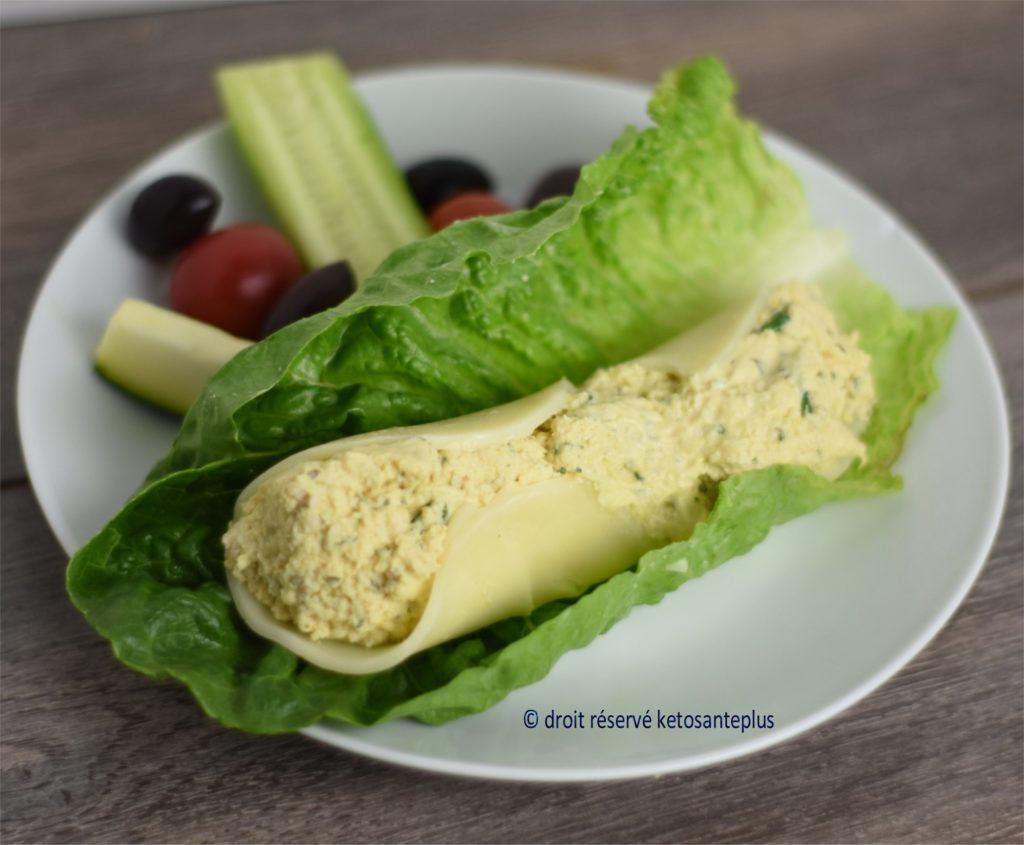 Salade de poulet aneth