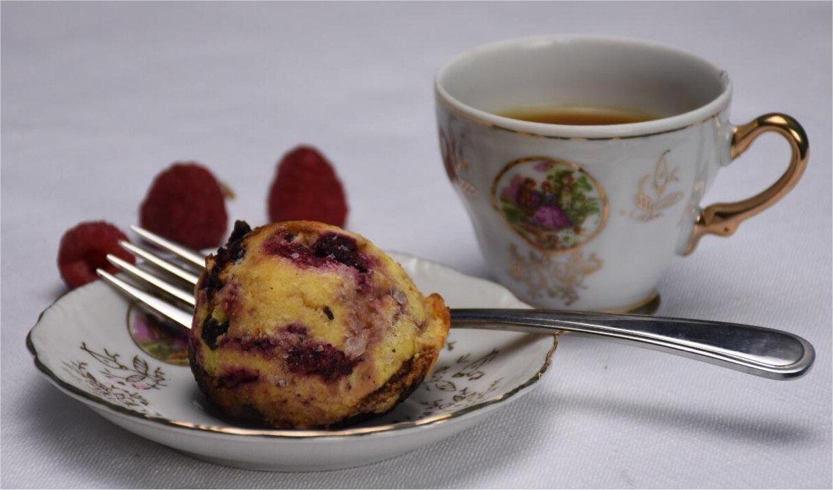 Muffins aux bleuets keto