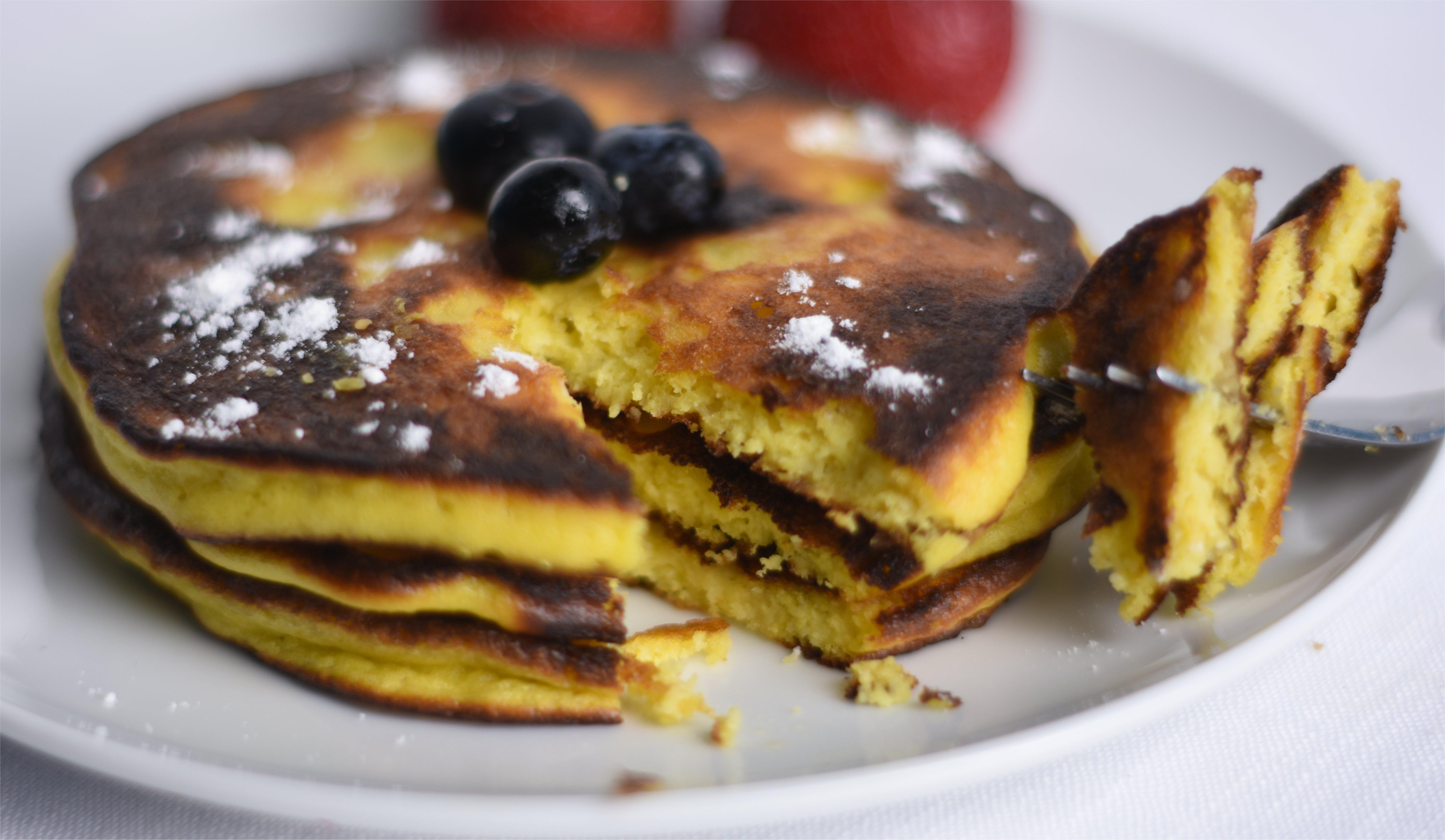 crèpes américaines (pancakes) cétogènes