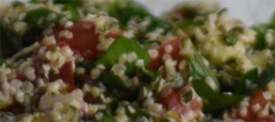 Taboulé de graines de chanvre keto