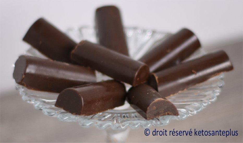 chocolat à la menthe keto