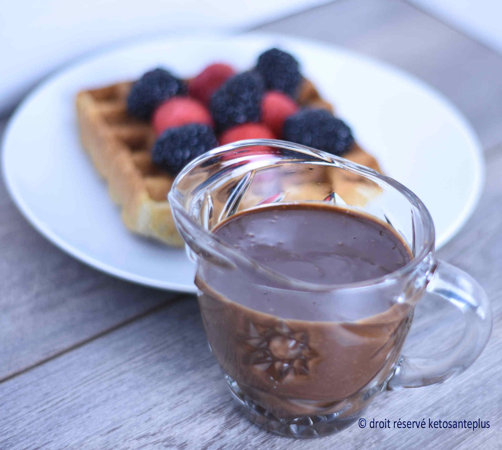 Sauce chaude au chocolat